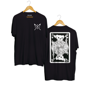 Mr Belt & Wezol tee Black