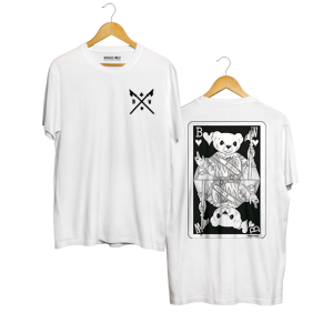 Mr Belt & Wezol tee White