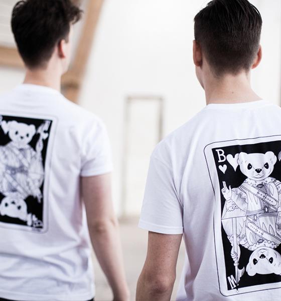 Mr. Belt & Wezol T-shirt white